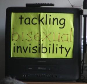 Tackling bi invisibility on TV - and radio